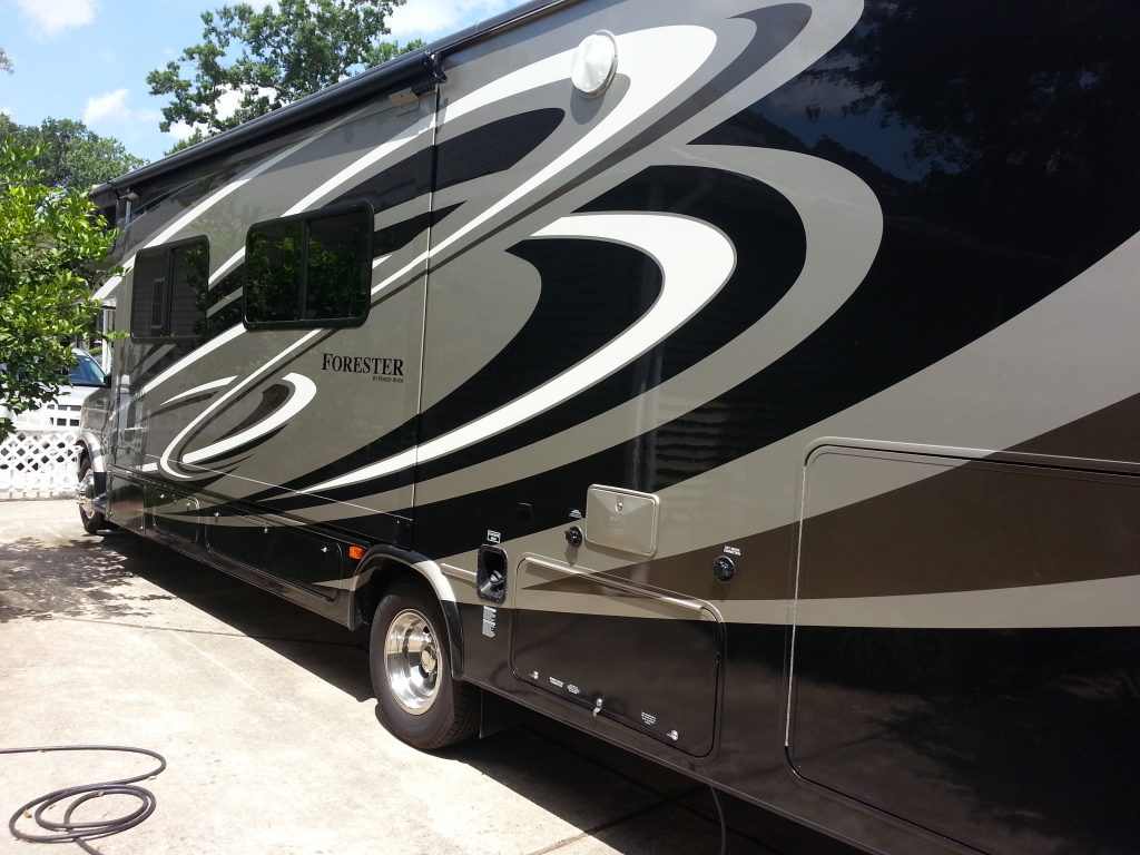 motor home window tinting